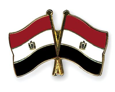 Freundschaftspins �gypten-�gypten