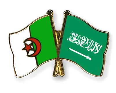 Freundschaftspins Algerien-Saudi-Arabien