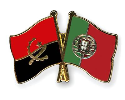Freundschaftspins Angola-Portugal