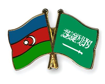 Freundschaftspins Aserbaidschan-Saudi-Arabien