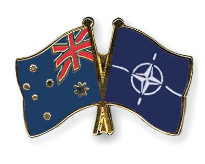Freundschaftspins Australien-NATO