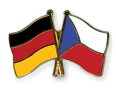 Freundschaftspin Tschechien Anstecker Pin Flagge Fahne