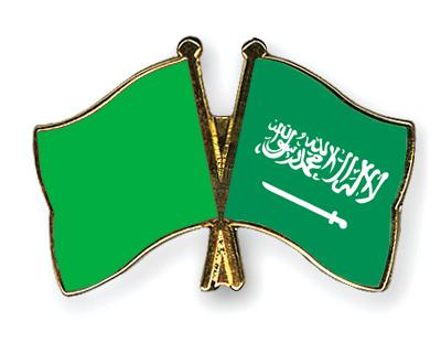 Freundschaftspins Libyen-(1977-2011)-Saudi-Arabien