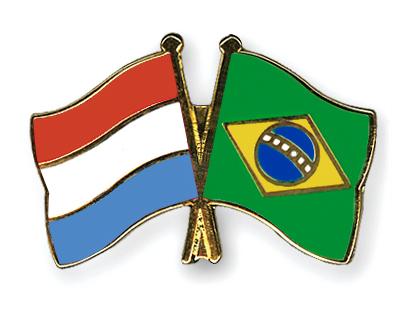 Freundschaftspins Luxemburg-Brasilien