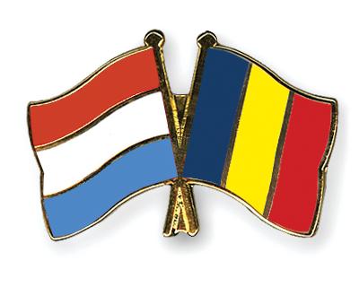 Freundschaftspins Luxemburg-Rumaenien