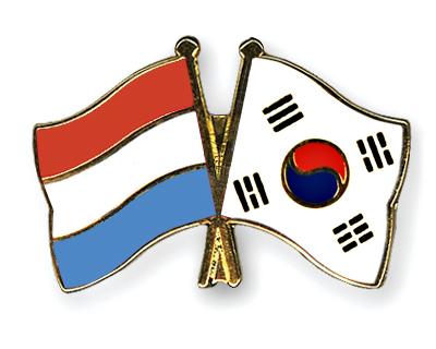 Freundschaftspins Luxemburg-S�dkorea
