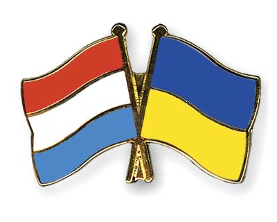 Freundschaftspins Luxemburg-Ukraine