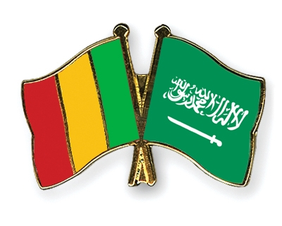 Freundschaftspins Mali-Saudi-Arabien