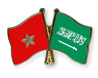 Freundschaftspins Marokko-Saudi-Arabien