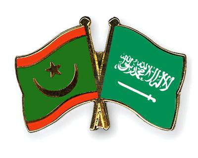 Freundschaftspins Mauretanien-Saudi-Arabien