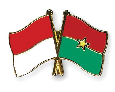 Freundschaftspins Monaco-Burkina Faso