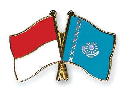 Freundschaftspins Monaco-Kasachstan