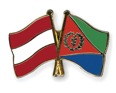 Freundschaftspins �sterreich-Eritrea