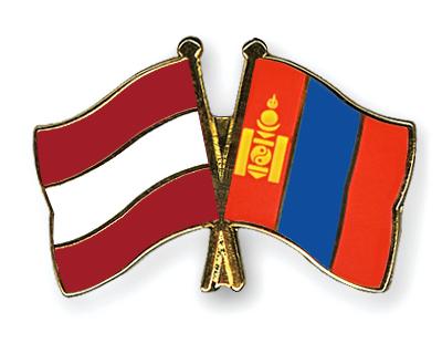 Freundschaftspins �sterreich-Mongolei