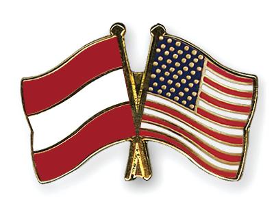 Freundschaftspins �sterreich-USA