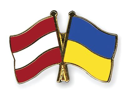Freundschaftspins �sterreich-Ukraine